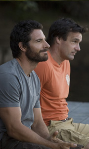 Ed Quinn in the funny camp movie The Rainbow Tribe