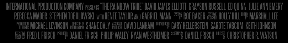 Christopher Watson directs the Rainbow Tribe